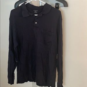 Lands' End size Large long sleeved polo